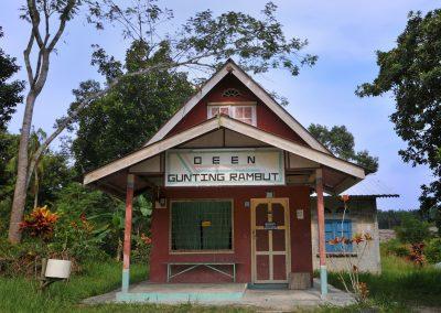old barber shop